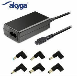 Adapter za laptop AKYGA Universal AK-NU-12 65W 6 tips 1.2m