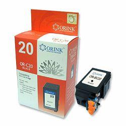 Tinta ORINK Canon fax BC20/BX20 crna