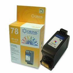 Tinta ORINK C6578DE HP TRI COLOR, 19ML