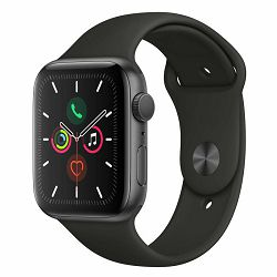Pametni sat APPLE Watch Series 5 GPS 40mm Space Grey Aluminium Case with Black Sport Band