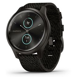 Pametni sat GARMIN vivomove Style Slate Black Pepper Nylon
