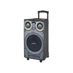 Party zvučnik MANTA SPK5003 karaoke GHUL, BT, FM, pojač,, bež. mikrf, gitara, daljinski, baterija
