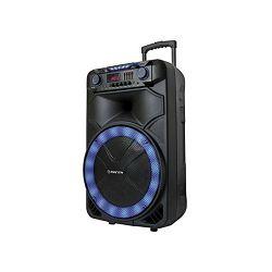 Party zvučnik MANTA SPK5023 karaoke FM, gitara, disco RGB ef, daljinski, mikrofon, baterija