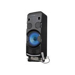 Party zvučnik MANTA SPK5032 karaoke FM, disco svjetlosni efekti, daljinski, mikrofon, baterija