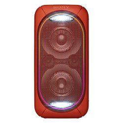 Party zvučnik SONY GTK-XB60R crveni (Bluetooth, USB, ugrađena baterija)