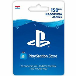 Playstation SONY LIVE CARD bon HRK150