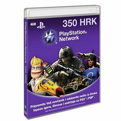 Playstation SONY LIVE CARD HRK350