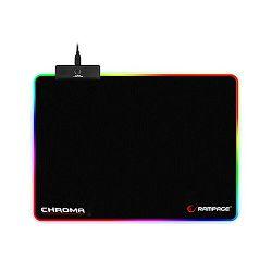Podloga za miš RAMPAGE MP-18 355x255x3.0mm, RGB