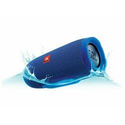 Prijenosni zvučnik JBL Charge 3 plavi (Bluetooth, baterija 20h)
