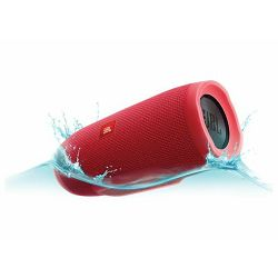 Prijenosni zvučnik JBL Charge 3 crveni (Bluetooth, baterija 20h)