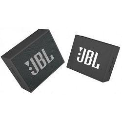 Prijenosni zvučnik JBL GO crni (Bluetooth, baterija 8h)