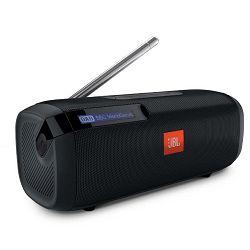 Prijenosni zvučnik JBL Tuner crni (DAB/FM radio, Bluetooth, 8 sati reprodukcije)