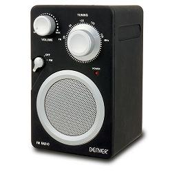 Prijenosni radio DENVER TR-41C crni