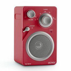 Prijenosni radio DENVER TR-41C crveni