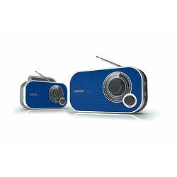 Prijenosni radio DENVER TR-51 plavi