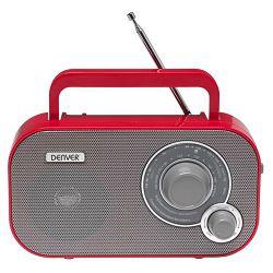 Prijenosni radio DENVER TR-54 crveni