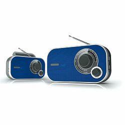 Prijenosni radio DENVER TR-54 plavi
