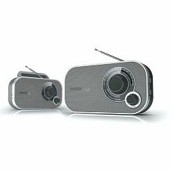 Prijenosni radio DENVER TR-54 sivi