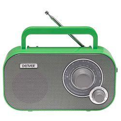 Prijenosni radio DENVER TR-54 zeleni