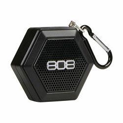 Prijenosni zvučnik 808 AUDIO Tether SP 50BK E crni (Bluetooth, baterija 6h)