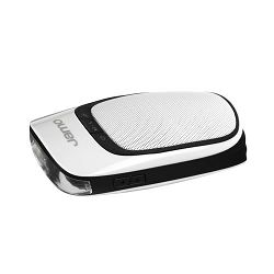 Prijenosni zvučnik i svjetlo za bicikl JAMO DS 1 bijeli (Bluetooth, baterija 6h)