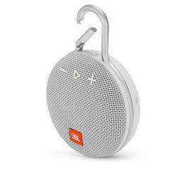 Prijenosni zvučnik JBL CLIP 3 bijeli (Bluetooth, baterija 10 h)
