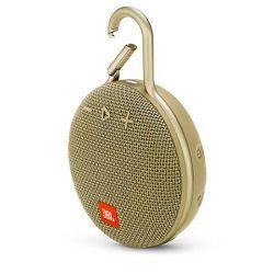 Prijenosni zvučnik JBL CLIP 3 sand (Bluetooth, baterija 10 h)