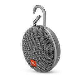 Prijenosni zvučnik JBL CLIP 3 sivi (Bluetooth, baterija 10 h)