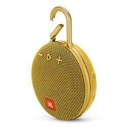 Prijenosni zvučnik JBL CLIP 3 žuti (Bluetooth, baterija 10 h)