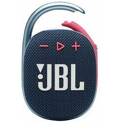 Prijenosni zvučnik JBL CLIP 4 bluepink (Bluetooth, baterija 10h)