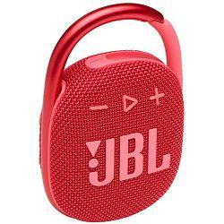 Prijenosni zvučnik JBL CLIP 4 crveni (Bluetooth, baterija 10h)