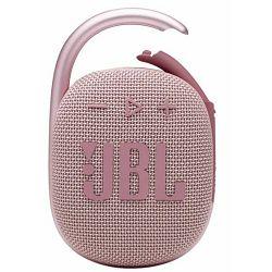Prijenosni zvučnik JBL CLIP 4 pink (Bluetooth, baterija 10h)