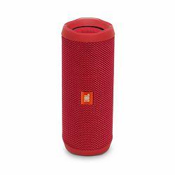 Prijenosni zvučnik JBL Flip 4 crveni (Bluetooth, baterija 12h)