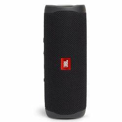 Prijenosni zvučnik JBL FLIP 5 crni (Bluetooth, baterija 12h, IPX7)