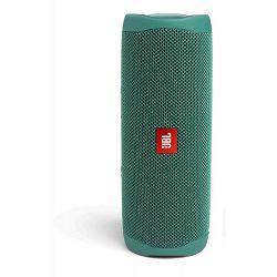 Prijenosni zvučnik JBL FLIP 5 Eco zeleni (Bluetooth, baterija 12h, IPX7)