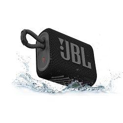Prijenosni zvučnik JBL GO 3 crni (Bluetooth, baterija 5h)