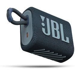 Prijenosni zvučnik JBL GO 3 plavi (Bluetooth, baterija 5h)