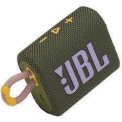 Prijenosni zvučnik JBL GO 3 zeleni (Bluetooth, baterija 5h)