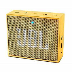 Prijenosni zvučnik JBL GO žuti (Bluetooth, baterija 8h)