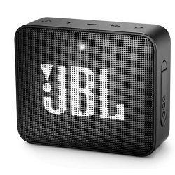 Prijenosni zvučnik JBL GO 2 crni (Bluetooth, 5 sati reprodukcije)
