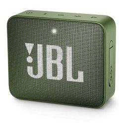 Prijenosni zvučnik JBL GO 2 zeleni (Bluetooth, 5 sati reprodukcije)