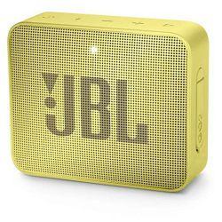 Prijenosni zvučnik JBL GO 2 žuti (Bluetooth, 5 sati reprodukcije)