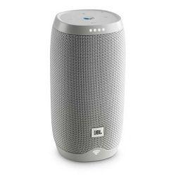 Prijenosni zvučnik JBL Link 10 bijeli (Wi-Fi, Bluetooth, glasovna aktivacija, 5h reprodukcije)
