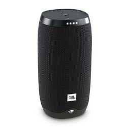 Prijenosni zvučnik JBL Link 10 crni (Wi-Fi, Bluetooth, glasovna aktivacija, 5h reprodukcije)
