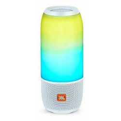 Prijenosni zvučnik JBL Pulse 3 bijeli (Bluetooth, baterija 12h)