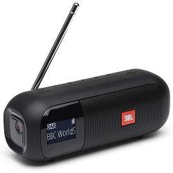 Prijenosni zvučnik JBL TUNER 2 crni (DAB/FM radio, Bluetooth, 12 sati reprodukcije)