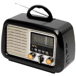 Prijenosni zvučnik SAL RRT 2B 4in1, (FM, Bluetooth, MP3, AUX)