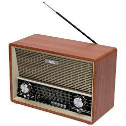 Prijenosni zvučnik SAL RRT 4B 4in1, (FM, Bluetooth, MP3, AUX, baterija 8h)