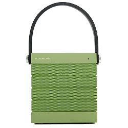 Prijenosni zvučnik SCANSONIC BT100 zeleni (Bluetooth, baterija do 10h)