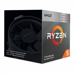 Procesor AMD CPU Desktop Ryzen 5 4C/8T 3400G (4.2GHz,6MB,65W,AM4) box, RX Vega 11 Graphics, with Wraith Spire cooler